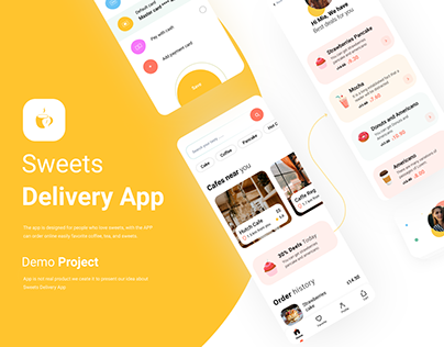 Sweets delivery app