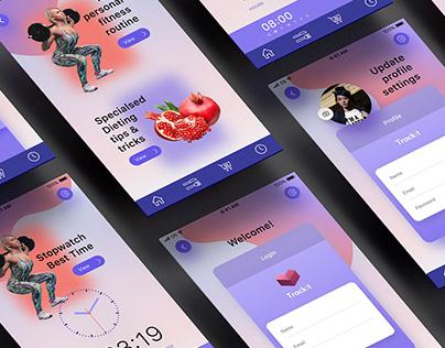 Fitness App UI/UX