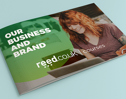 Reed Co Uk Projects Photos Videos Logos Illustrations And Branding On Behance
