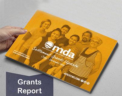 MDA Grants Report