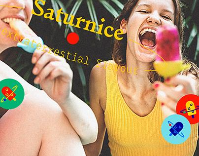 SATURNiCE | Ice Cream Van Branding