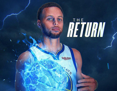 Stephen Curry | Graphics for his return | NBA