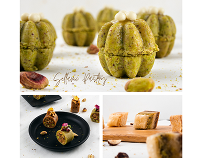"Food Photography for "" Pâtisserie Sellami """