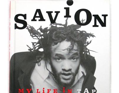 BOOK JACKET + INTERIOR: Savion! My Life in Tap