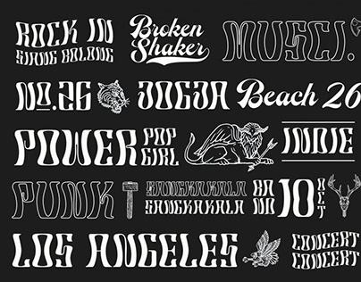 Robertson Display Font