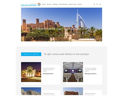 Solar Empire Tourism Dubai By Redspider