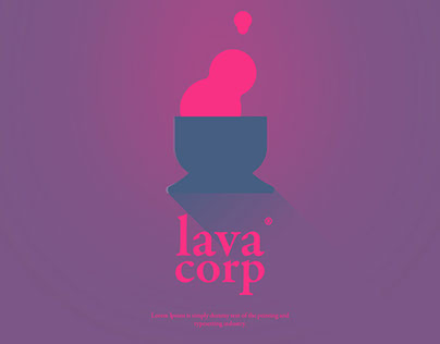 Lava Corp poster