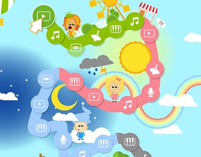 Game UI for children