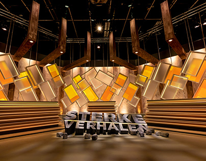 "Set Design - TV program ""Sterke Verhalen"""