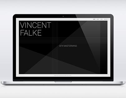 Vincent Falke Website Concept
