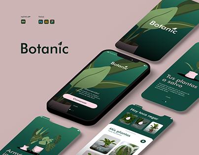 Diseño ux/ui - Botanic
