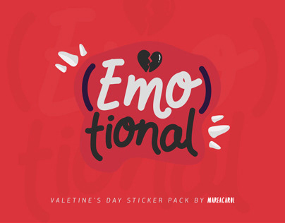 (Emo)tional — sticker pack