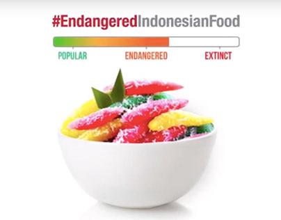 Endangered Indonesian Food