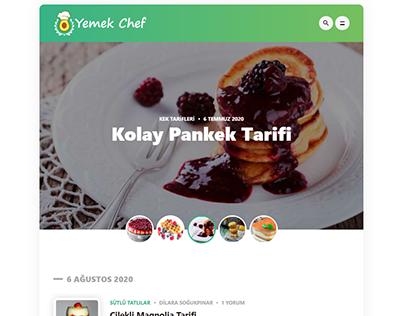 Yemek Chef - Yemek Tarifi Sitesi