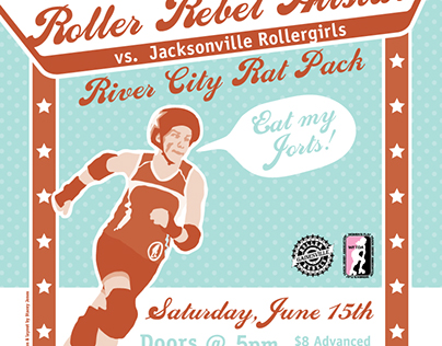 Campaign: Roller Derby Poster Series