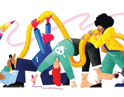 How illustrators grow up in Slovakia