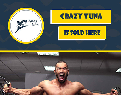 Crazy Tuna commercial banner