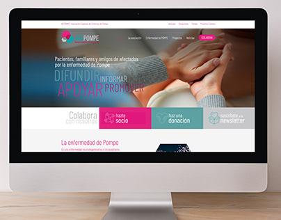 Web Asociación Española de Enfermos de POMPE