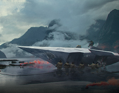 Lunch Time Photobash