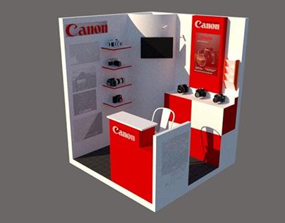 Canon Exhibit Booth