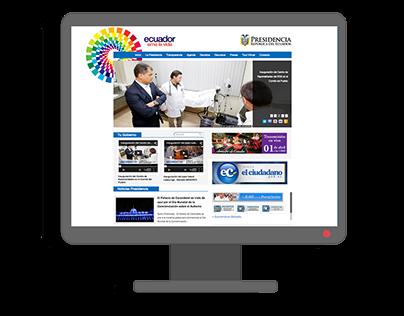 Estandarización de Sitios Web - Gobierno del Ecuador