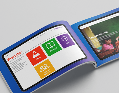 Brand Identity Manual and UI Design for Edu Project