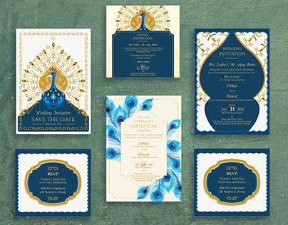 Indian Elegant Wedding E-Invite