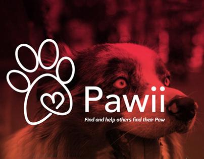 Pawii App Design