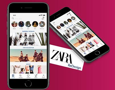 Zara App ReDesign