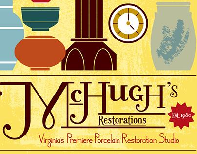 McHugh's Restorations Poster