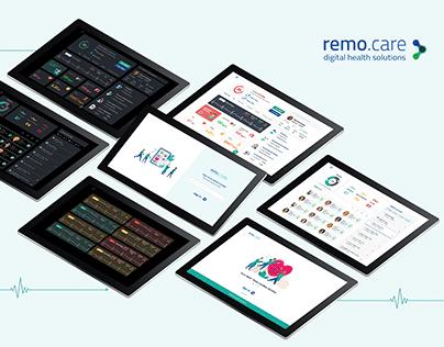 remo.care Dashboard Design