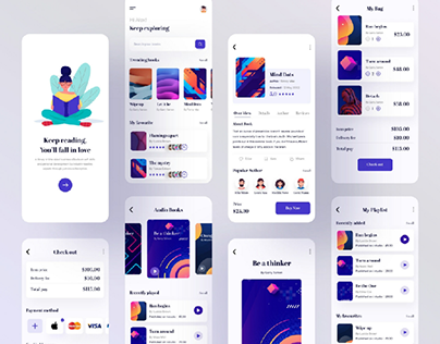 Book Store Mobile Application Design
