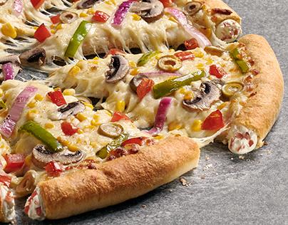 Pizza Hut - Bordes rellenos