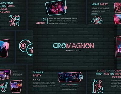 [FREE PRESENTATION] Cromagnon - Neon Presentation