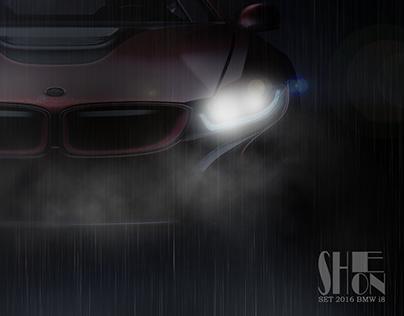 HeadLight (BMW i8)