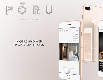 Web Design: Poru