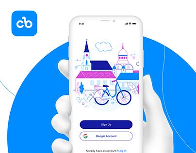 ClujBike: Bike-sharing App