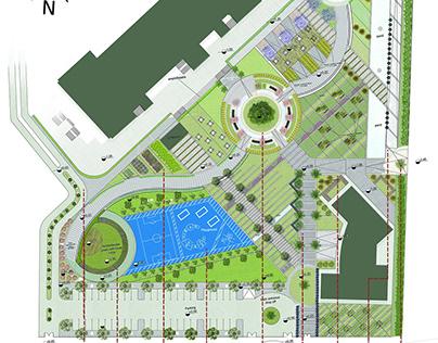 Sheikh Zayed Campus - Landscape Project
