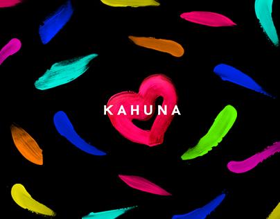 KAHUNA LOVE - brand identity