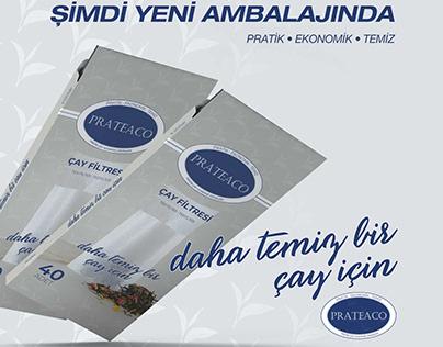 PRATEACO Çay Filtresi (Tea Filter)