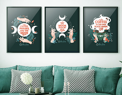 Moon Quote Wictch Collection