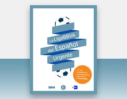 [FUNDÉU BBVA] La Liga BBVA del Español Urgente