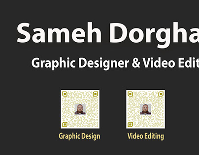 Sameh Dorgham Graphic Designer & Video Editor
