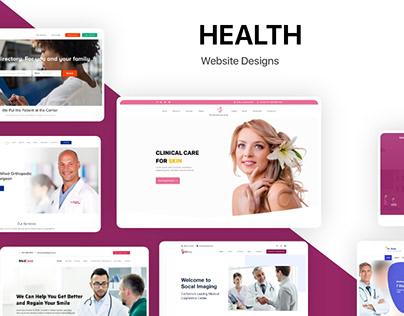 Set Of 7 Health Website
