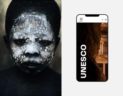 UNESCO — Rethinking website