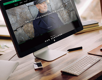 Georg Sörman - Webdesign
