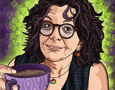 Chana Messer Portrait