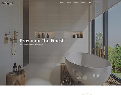 InFocus RE Marketing Website