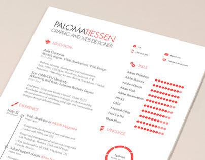 CV Resume Template FREE