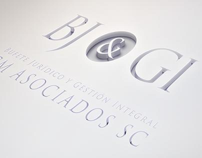 identidad de marca Bj&GI
